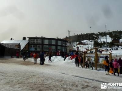 Siete Picos - Valle la Fuenfría; rutas sierra de madrid; excursiones y senderismo